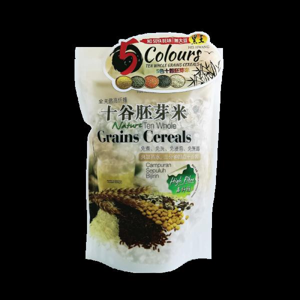 5 colours ten whole grains cereals