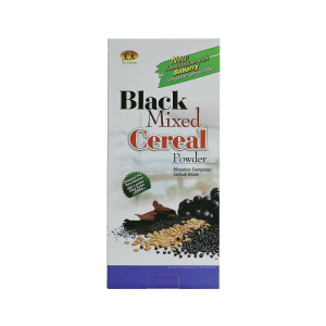 black mixed cereal